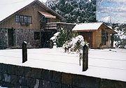 Neve em São Joaquim, Santa Catarina.